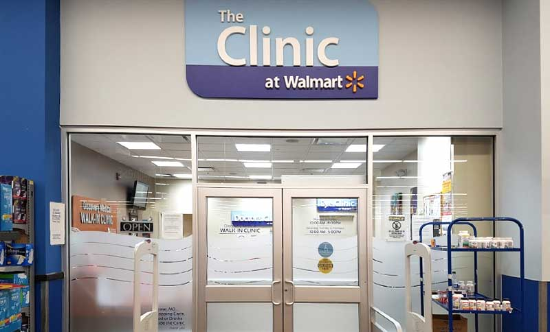 Campbell River podiatry clinic located in Walmart